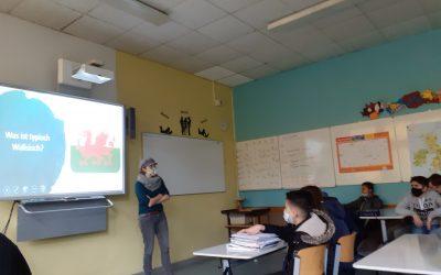 Ein Fuchs aus Wales – Lesung der Autorin Kathrin Tordasi in der Klasse 7A